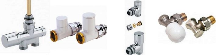 kit robinetterie radiateur manuelle