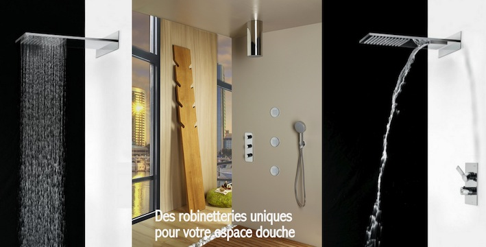 Home Page Douche encastré design