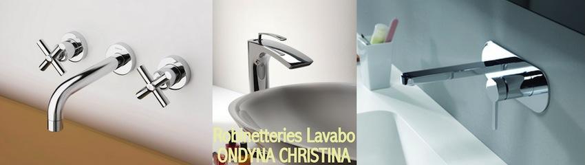 Robinetterie lavabo Ondyna-Christina