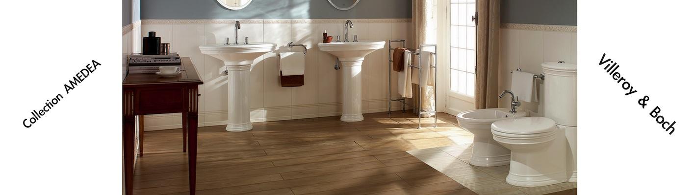 Sanitaire collection AMEDEA de Villeroy & Boch