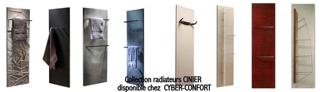 Radiateur contemporain CINIER