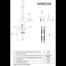 Piéces détachées WINDOW 059357