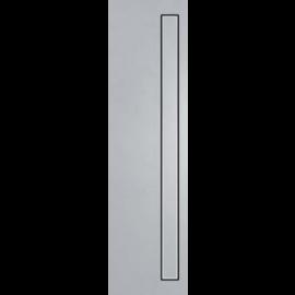 FUNDO Barrette de finition standard inox , surface brossée