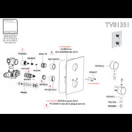 Pieces detachees ONDYNA TV81351