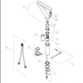 Pièces détachées NOBILI ZOOM ZM00113-1CR