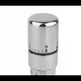Tête thermostatique à liquide Chrome