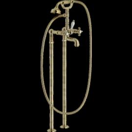 RITZ Bain / Douche  Vieux bronze sur pieds