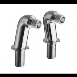 COLONNETTES BAIN-DOUCHE CHROME