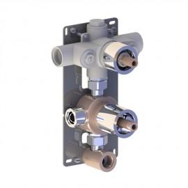 Mécanisme mitigeur thermostatique à encastrer MYRIAD  2 sorties