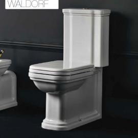 WC Céramique WALDORF Réservoir attenant