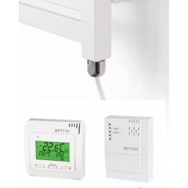Kit Thermostat sans fil mural ou encastré avec résistance