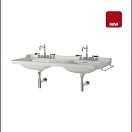 LAVABO DOUBLE CERAMIQUE WALDORF 1500 mm