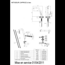 Piéces détachées Caprice 521906