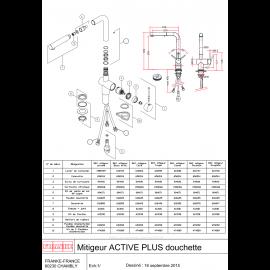 Piéces détachées ACTIVE PLUS 601973