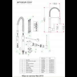 Pieces detachees COXY 100295