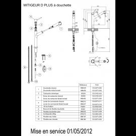 Piéces détachées D PLUS 633012/633029