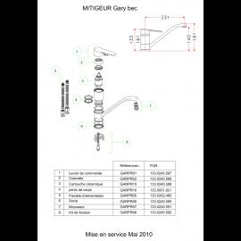 Piéces détachées GARY 100271