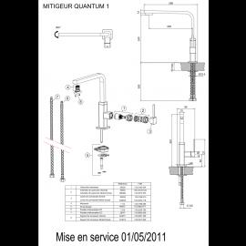 Piéces détachées QUANTUM 1 (521845/521852)