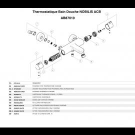 Pièces détachées ABC AB87010