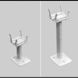 pieds de fixation pour radiateur brugmann horizontaux type 20s 21s 22 et 33. Black Bedroom Furniture Sets. Home Design Ideas