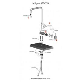 Piéces détachées COSTA 599950