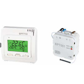 Kit Thermostat et Récepteur encastré sans fil