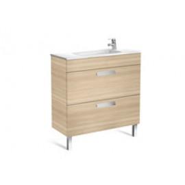 Meuble lavabo INIK DEBBA COMPACT 2 TIROIRS ET LAVABO PORCELAINE