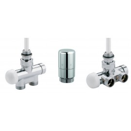 Kit robinetterie Thermostatique bi-monotube