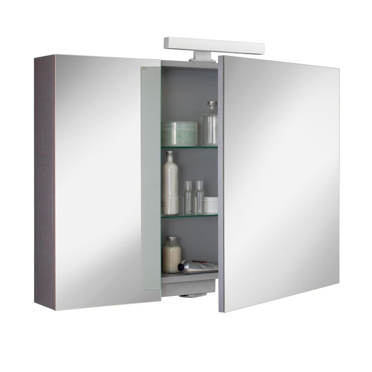 armoires de toilette sanijura flybox. Black Bedroom Furniture Sets. Home Design Ideas
