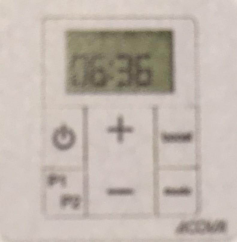 boitier de commande thermostat acova 894368 radiofr quence eco design. Black Bedroom Furniture Sets. Home Design Ideas