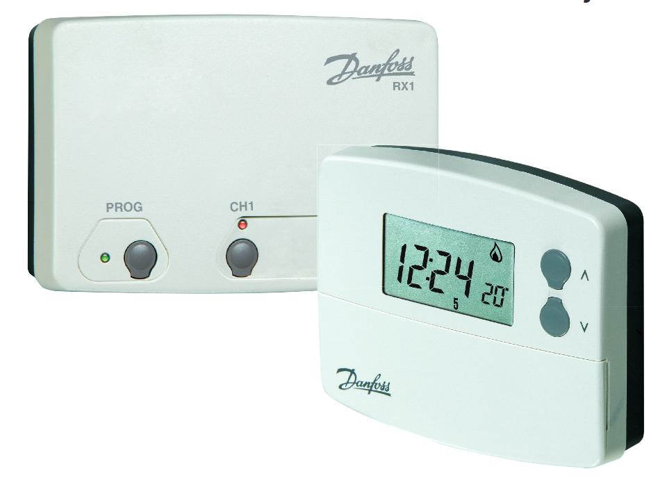 thermostat d 39 ambiance tp 5000 programmable lectronique sans fil. Black Bedroom Furniture Sets. Home Design Ideas