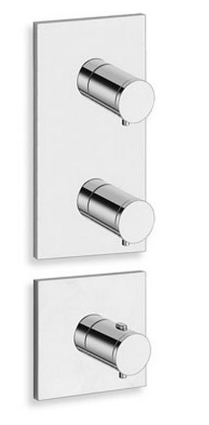 douche laiton triverde thermostatique 2 sorties sans mecanisme. Black Bedroom Furniture Sets. Home Design Ideas