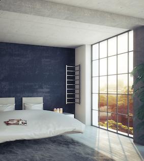 un radiateur d 39 angle hors du commun flexi de chez enix le design l 39 tat pur. Black Bedroom Furniture Sets. Home Design Ideas