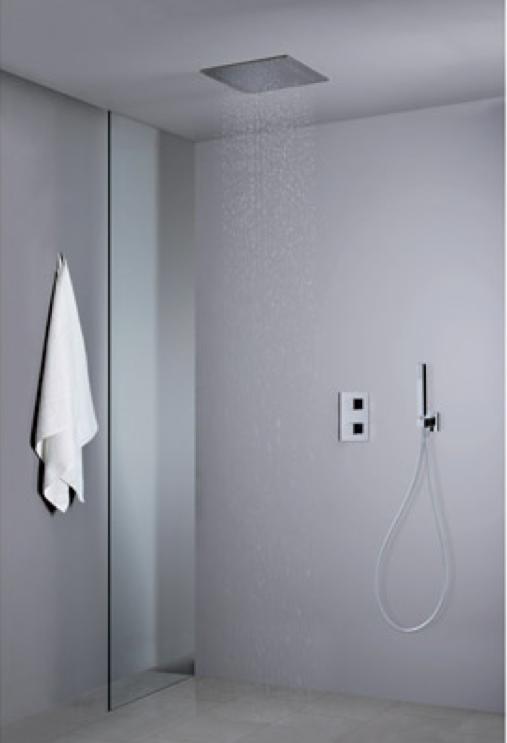 pack encastre quadri douche thermostatique plafond. Black Bedroom Furniture Sets. Home Design Ideas