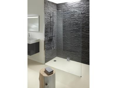 paroi de douche fixe contra long 100 et 120 cm. Black Bedroom Furniture Sets. Home Design Ideas