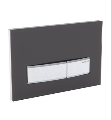plaque de d clenchement geberit sigma50 finition blanc. Black Bedroom Furniture Sets. Home Design Ideas