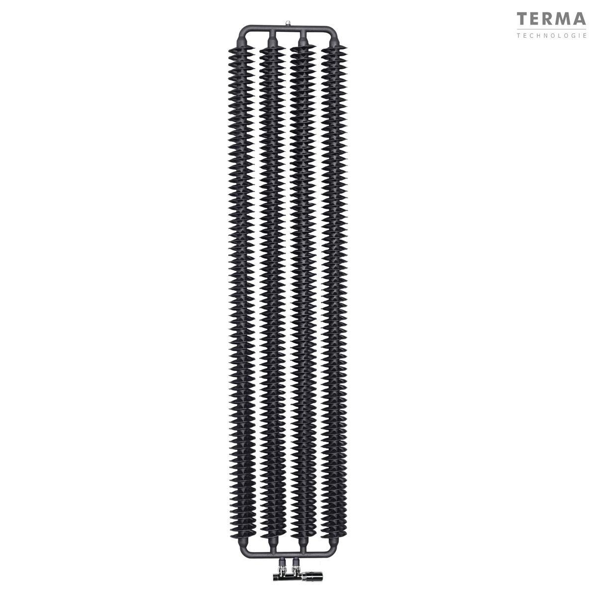 ribbon vertical troit 660 watts chauffage central radiateur chauffage central design r tro et. Black Bedroom Furniture Sets. Home Design Ideas
