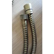 détails FLEXIBLE LAITON  150 CM VIEUX BRONZE