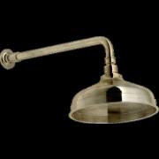 détails GRAZIA ANTICA RITZ  Pomme de douche droite Vieux bronze