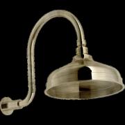 détails GRAZIA ANTICA RITZ Pomme de douche courbée Vieux bronze