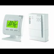 détails Kit Thermostat blanc et Récepteur mural sans fil