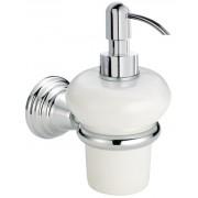 détails Porte-savon liquide rétro céramique MUSEO