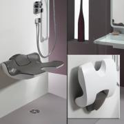 détails Siège de douche réglable Ergosoft
