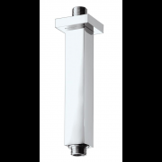 détails Bras de Plafond carré  pour douche de tête