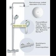 détails Colonne de douche RAINSHOWER SYSTEM 210
