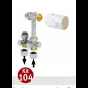 détails Kit 144 Droit CHAUFFER / REFROIDIR JAGA 50 mm Universelle