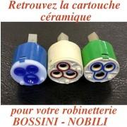 détails Cartouche Céramique Mitigeur NOBILIS
