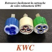 détails CARTOUCHE CERAMIQUE pour Mitigeur cuisine KWC