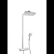 détails SHOWERPIPE RAINDANCE SELECT E360 Blanc / Chrome