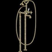 détails RITZ Bain / Douche  Vieux bronze sur pieds